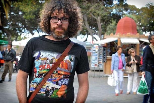 Periodista en San Telmo