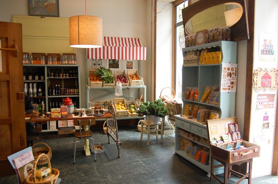 Zoe market una tienda de productos ecol gicos con estilo for Muebles antiguos las palmas