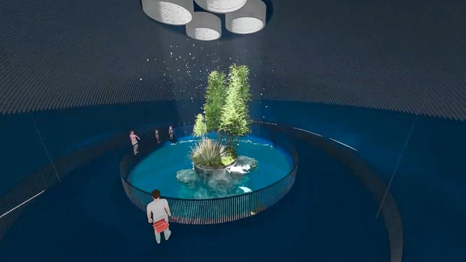 El acuario 39 poema del mar 39 abrir sus puertas en diciembre for Aquarium poema del mar