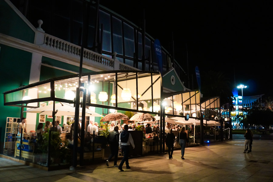 Gran Fiesta De Inauguración Del Restaurante Terraza Elder