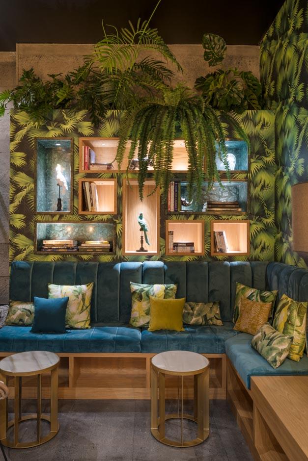 Restaurante kentia dise o y exotismo en lanzarote cool for Diseno de interiores gran canaria